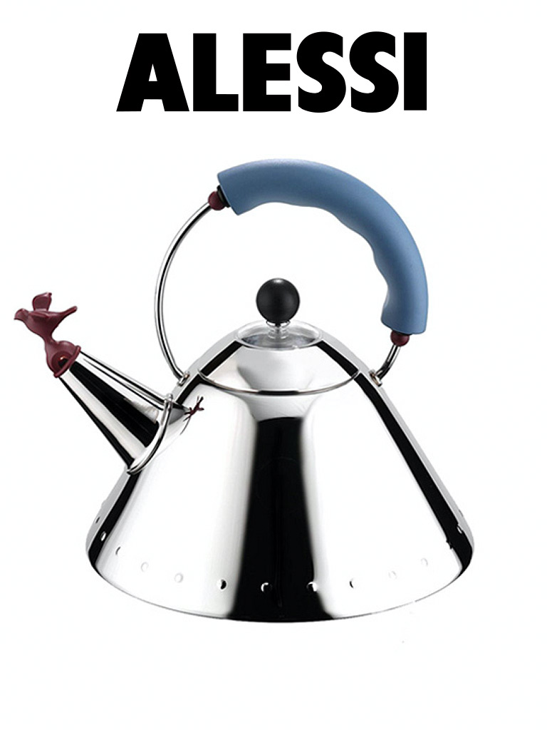 Alessi Bird Kettle Brandmade Tv